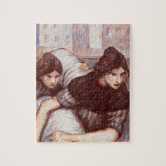 The Laundresses, 1898 (pastel on canvas) Jigsaw Puzzle