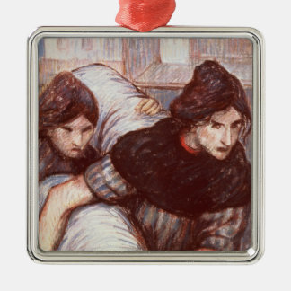 The Laundresses, 1898 (pastel on canvas) Metal Ornament