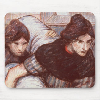 The Laundresses, 1898 (pastel on canvas) Mouse Pad