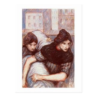 The Laundresses, 1898 (pastel on canvas) Postcard