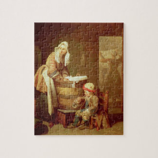 The Laundry Woman Jigsaw Puzzle