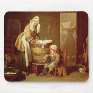 The Laundry Woman Mouse Pad
