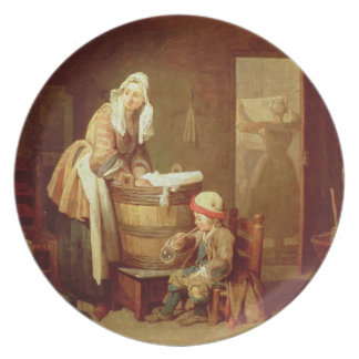 The Laundry Woman Plate