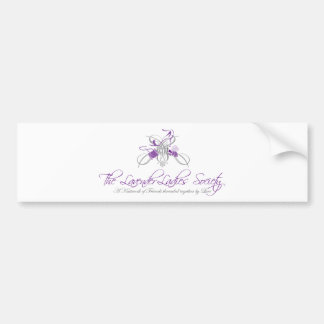 (The Lavender Ladies Society) Bumper Sticker