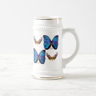 The LaVonna Harris Butterfly Beer Mug
