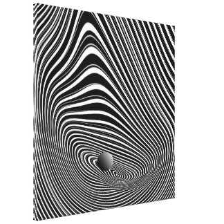 The Law of Gravity 3D Canvas Print