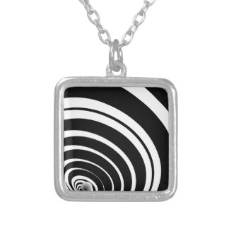 The Law of Gravity Silver Plated Necklace