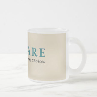The Lawfare Frosted Glass Mug