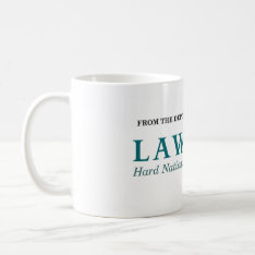 The Lawfare Mug at Zazzle