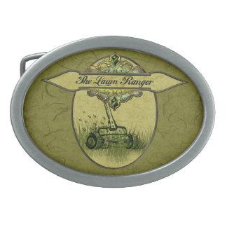 The Lawn Ranger Belt Buckle