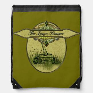 The Lawn Ranger Drawstring Backpack