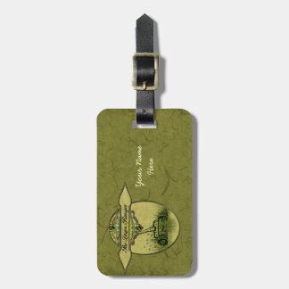 The Lawn Ranger Luggage Tag