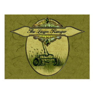 The Lawn Ranger Post Card