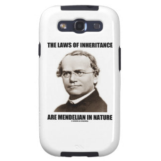 The Laws Of Inheritance Are Mendelian In Nature Samsung Galaxy S3 Covers