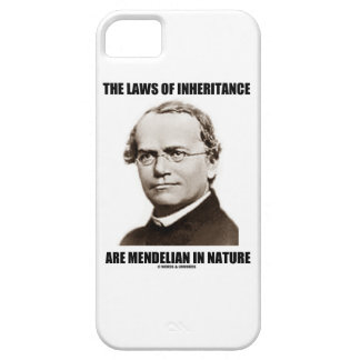 The Laws Of Inheritance Are Mendelian In Nature iPhone 5 Cases