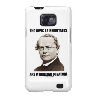 The Laws Of Inheritance Are Mendelian In Nature Galaxy SII Cases
