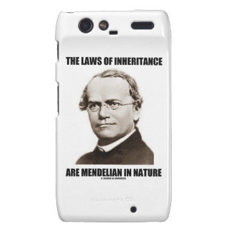 The Laws Of Inheritance Are Mendelian In Nature Droid RAZR Cases
