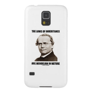 The Laws Of Inheritance Are Mendelian In Nature Galaxy S5 Covers