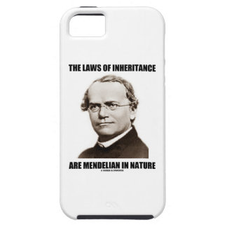 The Laws Of Inheritance Are Mendelian In Nature iPhone 5 Case