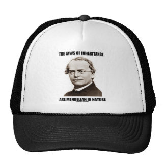 The Laws Of Inheritance Are Mendelian In Nature Trucker Hat
