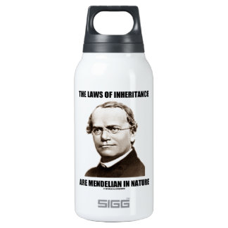The Laws Of Inheritance Are Mendelian In Nature Thermos Bottle