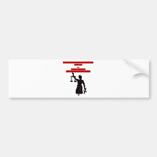 The Lawsuits Last too much per too many Procedures Bumper Sticker
