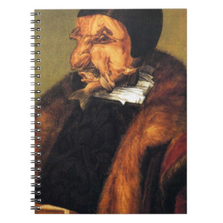 The Lawyer by Giuseppe Arcimboldo Note Books