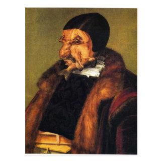 The Lawyer by Giuseppe Arcimboldo Postcard