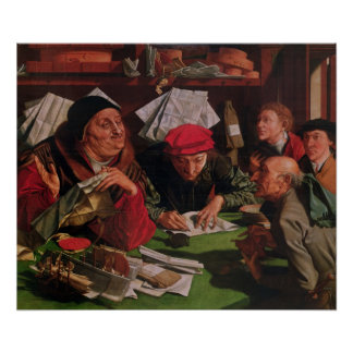 The Lawyer's Office, c.1545 Poster