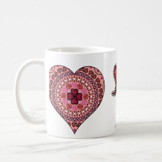 The Layers of the Heart Mug