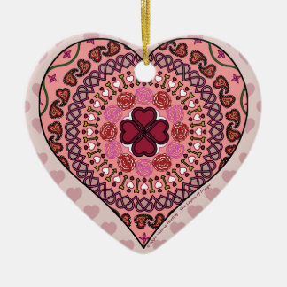 The Layers of the Heart Ornament