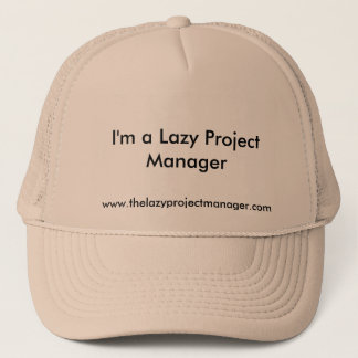 The Lazy Project Manager Hat