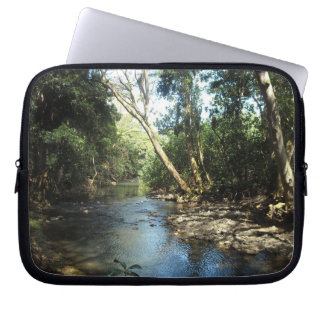 The Lazy River Laptop Computer Sleeves
