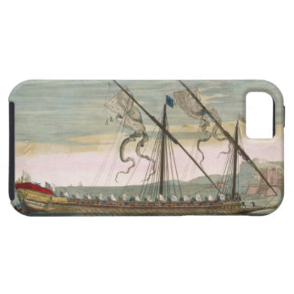 The lead galley under way by oar, from 'Le Naptune iPhone SE/5/5s Case