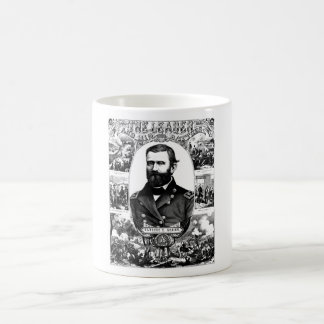 The Leader And His Battles -- Ulysses S. Grant Classic White Coffee Mug