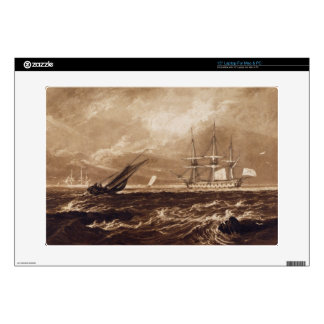 The Leader Sea Piece, engraved by Charles Turner ( Laptop Decals