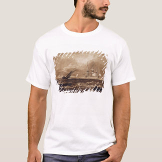 The Leader Sea Piece, engraved by Charles Turner ( T-Shirt