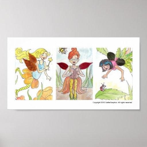 The Leaf Fairies Poster