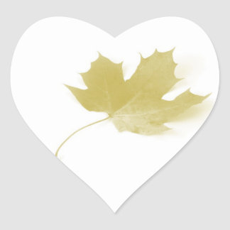 The Leaf Hearty  Sticker