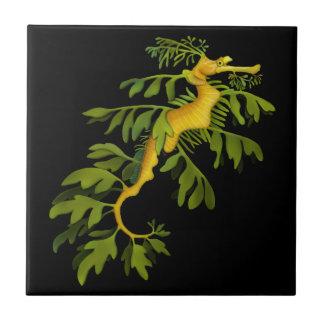 The Leafy Sea Dragon Seahorse Tile