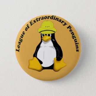The League of Extraordinary Penguins Pinback Button