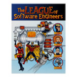 software, engineer, retro, comic, book, mouse,