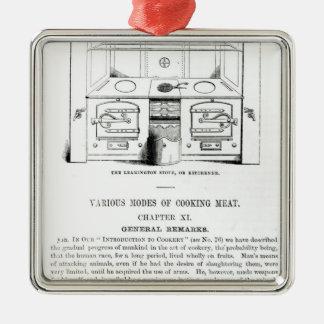 The Leamington Stove, or Kitchener Metal Ornament
