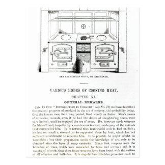 The Leamington Stove, or Kitchener Postcard