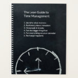 "The Lean Guide to Time Management Planner<br><div class=""desc"">The modern obsession with productivity led to a long list of time management techniques, in the quest for doing ever more. It looks like an endless battle, which most people feel they are losing. But it doesn&#39;t need to be. Use this planner to take with you the guidelines from the...</div>"