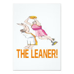 "The Leaner 5"" X 7"" Invitation Card"