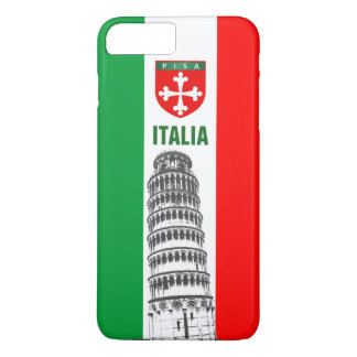 The Leaning Tower Of Pisa And The Pisan Cross iPhone 7 Plus Case