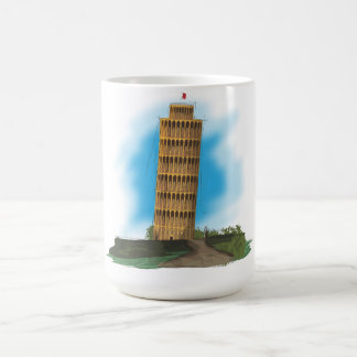 The Leaning Tower of Pisa Coffee Mug