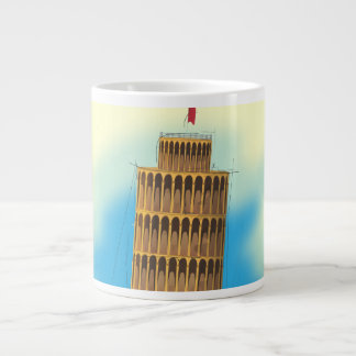 The Leaning Tower of Pisa Giant Coffee Mug