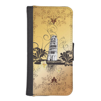 The leaning tower of Pisa iPhone SE/5/5s Wallet